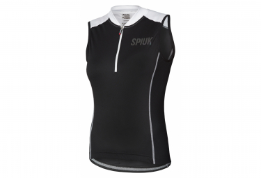 Spiuk Indoor Women Sleeveless Jersey Black