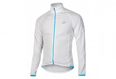 Spiuk Top Ten Windproof Windbreaker Jacket White