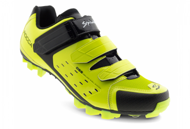 Spiuk Rocca MTB Shoes Neon Yellow Black
