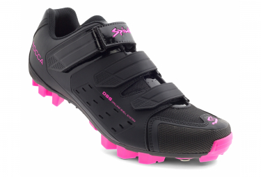 Spiuk Rocca MTB Shoes Black Fuchsia