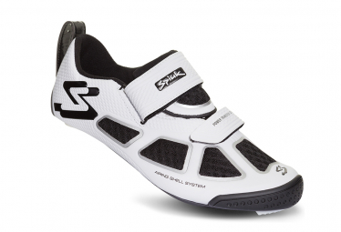 Spiuk Trivium C Triathlon Shoes White Silver Black