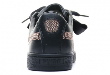 Heart Bling Baskets Femme Noir Puma
