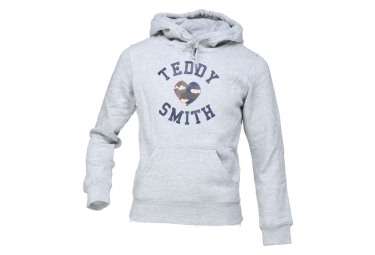 Sweat gris fille Teddy Smith Sofrench