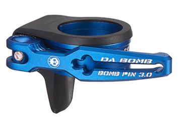 Collier de Selle Dabomb Bomb QR CLAMP 3.OP Bleu