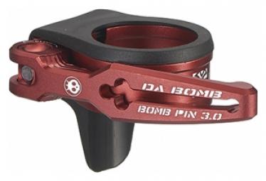 Collier de Selle Dabomb Bomb QR CLAMP 3.OP Rouge