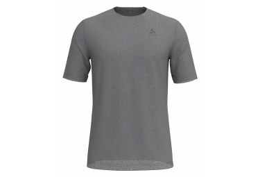 T-shirt Manches Courtes Odlo NATURAL 100% MERINO Homme Gris