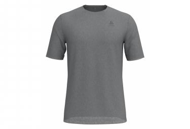 T-shirt Manches Courtes Odlo NATURAL 100% MERINO Homme Gris