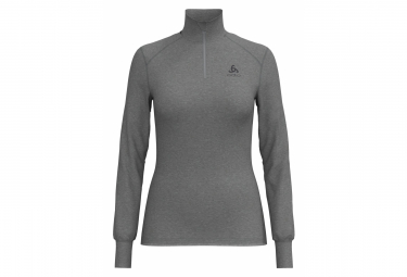 Maillot Manches Longues Odlo 1/4 Zip Active Warm Originals Gris Femme