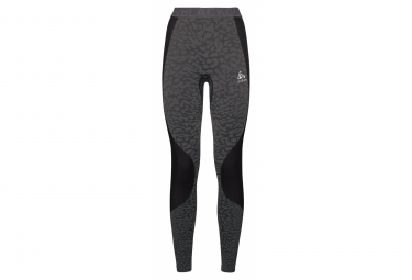 Odlo Long Tight Performance Blackcomb Black Grey Women