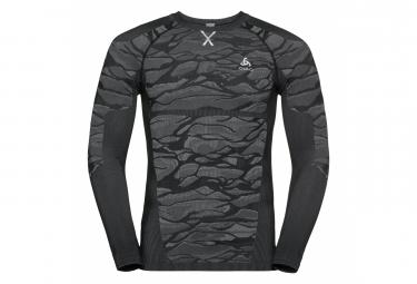 Odlo Long Sleeves Jersey Performance Blackcomb Black Grey Men