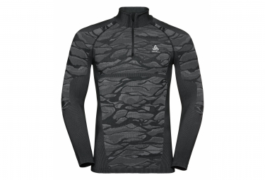 Odlo Performance Blackcomb Long Sleeves Base Layer Black Grey Men