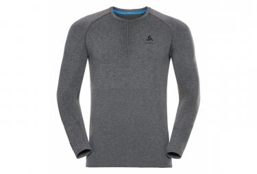 Odlo Long Sleeves Jersey Performance Warm Grey Men