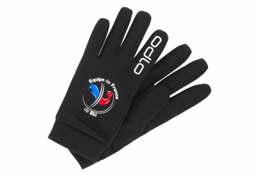 Par De Guantes Odlo Stretchfleece Liner Warm Fan France Black Unisex L