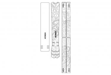 Dyedbro frame maori frame pelicula protectora blanca