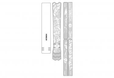 Dyedbro Frame Fluor Frame Protective Film White