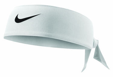 Bandeau Nike Tennis Dri-Fit Head Tie 3.0 Blanc Unisex