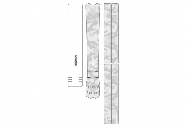 Dyedbro Frame Camo Frame Protective Film White