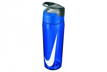 Bidon Nike Hypercharge Steel 700ml Bleu blanc Unisex