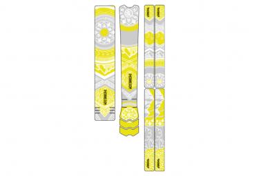 Kit de Protection Cadre Dyedbro Frame Mandala Blanc Vert Clair