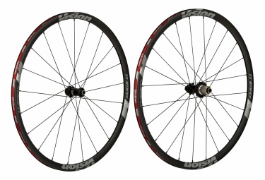 Pair of Vision Trimax 30 Disc Tubeless Centerlock Wheels | 9/12 / 15x100 - 9 / 12x135 / 142mm