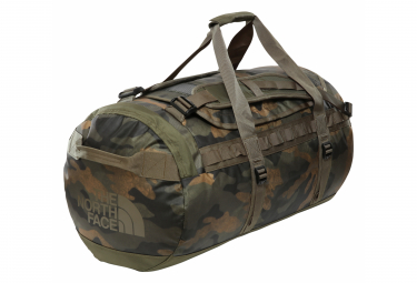 The North Face Base Camp Duffel - M Travel Bag Camo Olive Green