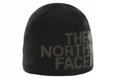 The North Face Banner Reversible Beanie Black Grey