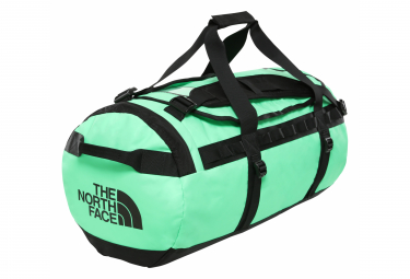 The North Face Base Camp Duffel - M Travel Bag Neon Green Black
