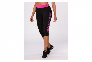 Image of Legging bodycross 3 4 running paula noir rose