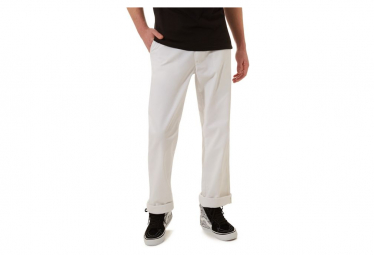 Pantalon Vans x Baker Authentic Chino Pro Baker Blanc
