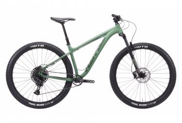 Kona Honzo Hardtail MTB Sram NX / SX Adler 12S 29 '' Sage Green 2020