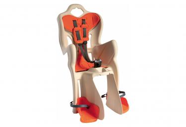 Image of Siege bebe velo bellelli b one clamp beige orange