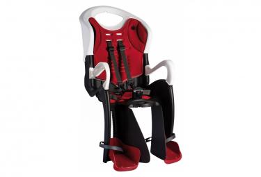 Bellelli Siège bébé pour vélo Tiger Standard B-Fix blanc/rouge