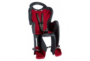 Bellelli Siège bébé pour vélo Mr Fox Standard B-Fix anthracite/rouge