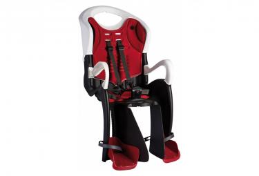 Bellelli Siège bébé pour vélo Tiger Relax B-Fix blanc/rouge