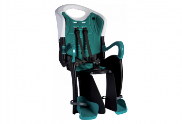 Bellelli Siège bébé pour vélo Tiger Relax B-Fix blanc/turquoise