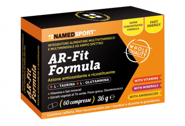 NamedSport AR-Fit Formula 60cpr Dietary Supplement