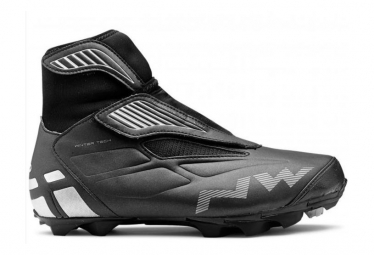 Northwave Husky MTB Winter Shoes Black / Silver