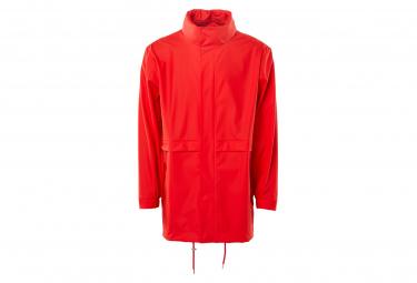 Rains Tracksuit Waterproof Jacket Red