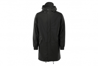 Image of Parka rains long quilted noir xs s