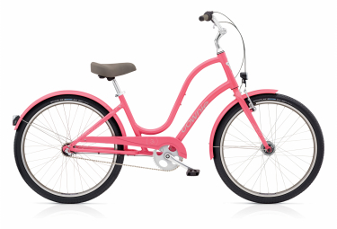 Beach Cruiser Women Electra Townie Original 3i / 3i EQ Shimano Nexus 3v Grapefruit / Pink 2020