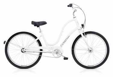 Beach Cruiser Women Electra Townie Original 3i / 3i EQ Shimano Nexus 3v White 2020