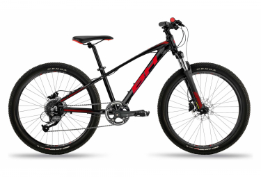 MTB Semi-Rigid Child Expert Junior 24 '' Pro Black / Red