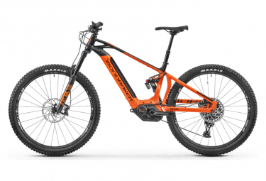 MTB Eléctrica Doble Suspensión Mondraker Crafty 29 SE  29'' Orange / Noir 2019