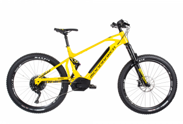 Electric Full Suspension Mondraker Chaser XR+ Kiox Shimano SLX XT 11V 27.5'' Plus 2019