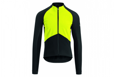 Chaqueta Assos Mille Gt Spring Spring Jacket Negro   Amarillo M