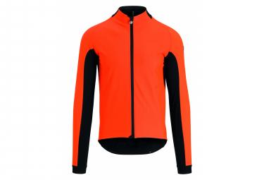 Veste Assos GT jacket Ultraz Winter Orange / Noir