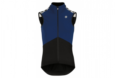 Assos Mille Gt Spring Fall Airblock Chaleco Negro   Azul S