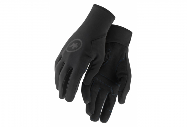 Pair of AssosOIRES Long Gloves Winter Gloves Black