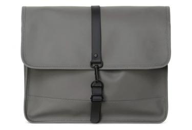 Rains Commuter Messenger Bag Charcoal Grey