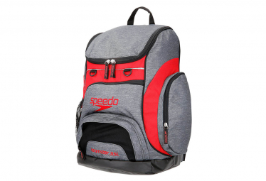 Speedo Teamster Rucksack Swimming Bag 35L Gray / Red